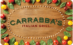 Design Your Own Carrabba's Italian Grill Gift Card
