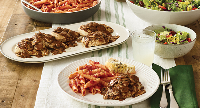 FAMILY BUNDLE CHICKEN MARSALA