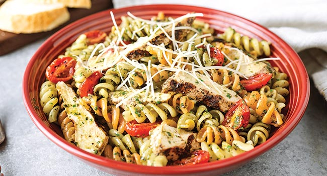 Fusilli Con Pesto & Chicken**