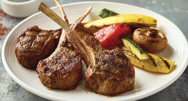 Tuscan-Grilled Lamb Chops*